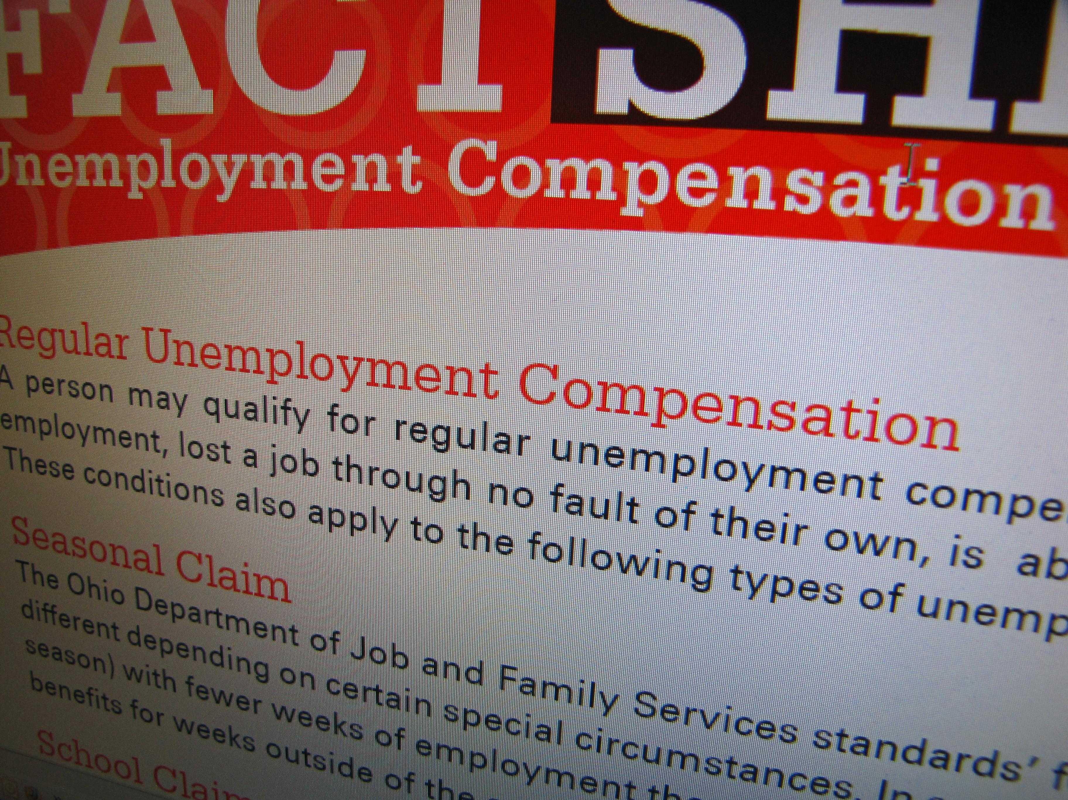 Ohio unemployment generic (not great) - 22751336
