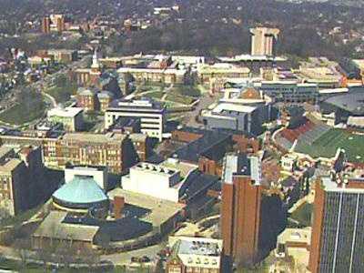 University of Cincinnati UC Campus Aerial Generic View - 15667178
