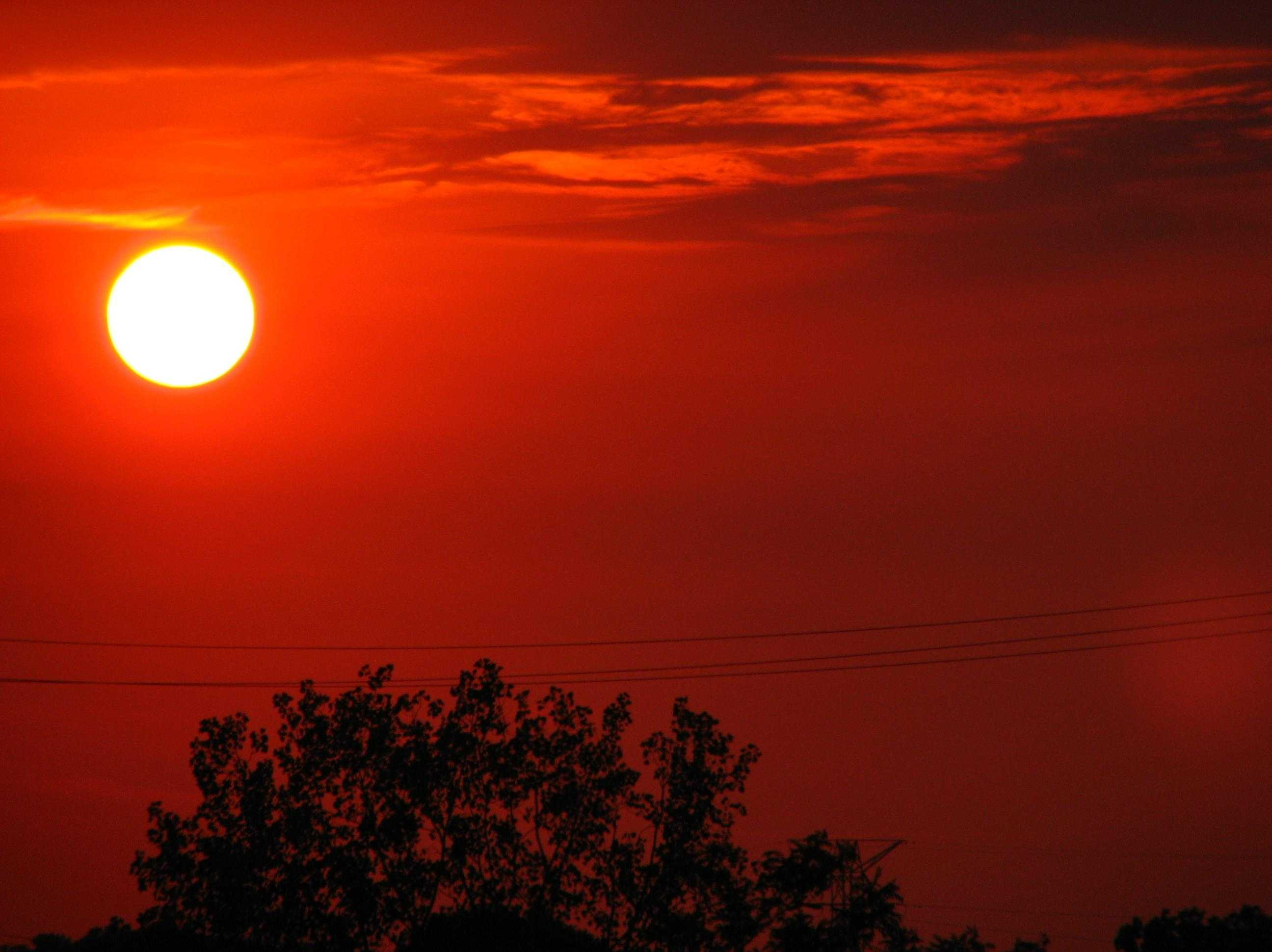 Generic Sun Sunset Heat - 13796344