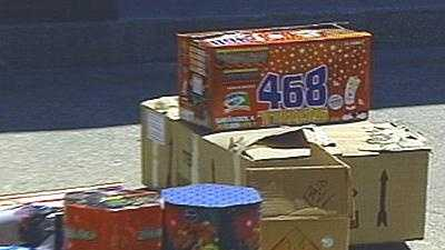 Illegal Fireworks - 13609530