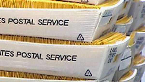 Stacks of absentee ballots - 10227598