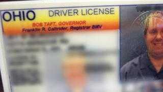 Ohio Driver's License 2006 - 10211888