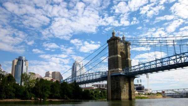 Roebling Suspension Bridge Cincinnati