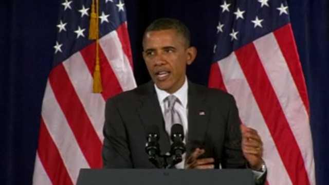 Barack Obama in Ga