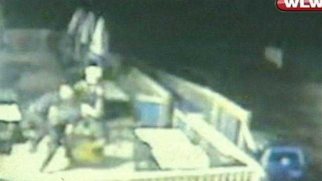 Raw video: Police beat man during bar disturbance