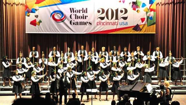 Winton Woods choir