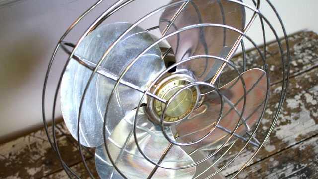 Cooling - Oscillating Fan