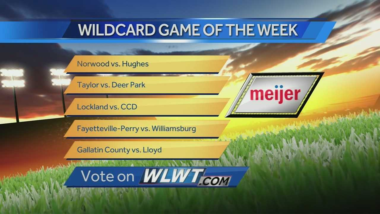 Wildcard Game of the Week Poll