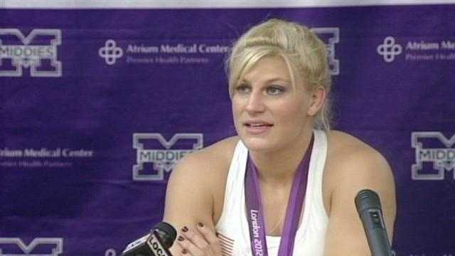 Olympic champion returns to Middletown