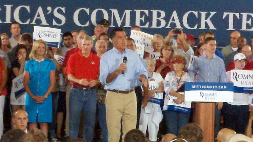 romney event