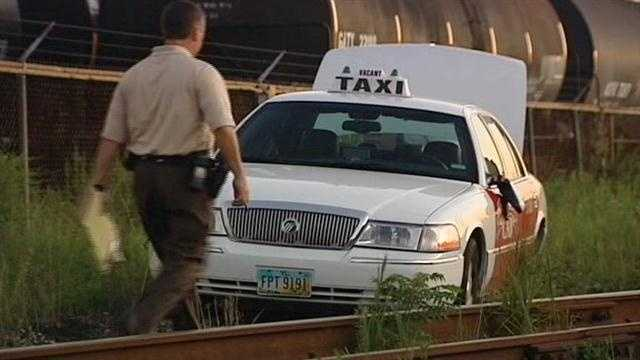 Cab driver robbed and kidnapped