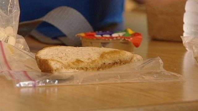 Parents say school lunch restrictions nutty