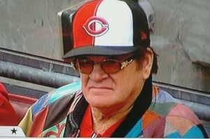 """The Hit King (4192) Pete Rose was also a part of the """"Great 8"""" who won back to back World Series titles in 1975 and 1976."""