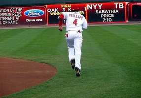 In 2007, Brandon Phillips become the third member of the Reds to join the 30/30 club, 30 home runs and 30 stolen bases. He has been an important plug in the Reds organization both offensively and defensively.