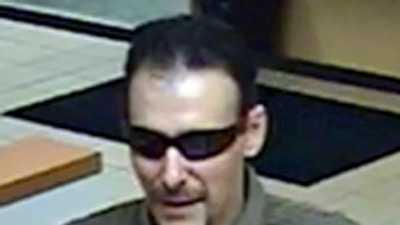 Green Twp bank robber