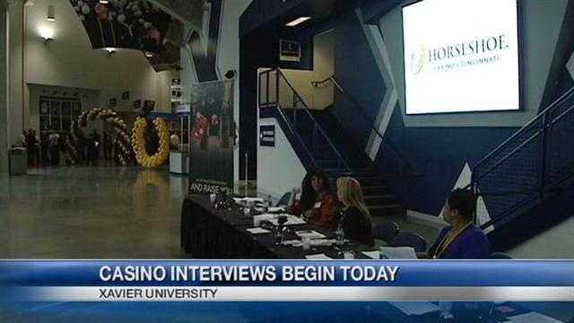 Interviews begin for would-be casino workers