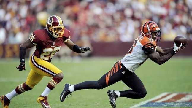 Andrew Hawkins vs. Redskins