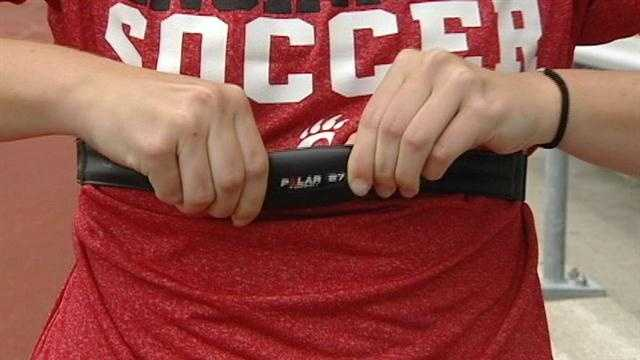 New device monitors heart rate, transmits back to coach