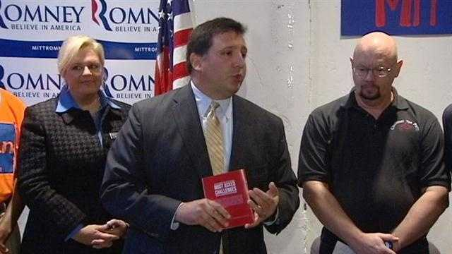 Local Republicans are rallying support for Mitt Romney as early voting opens in Ohio.