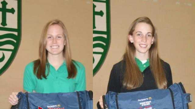 McDonald's Student Athletes of the Week for Oct. 5