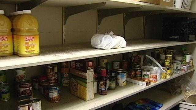 Some food banks running short ahead of holidays