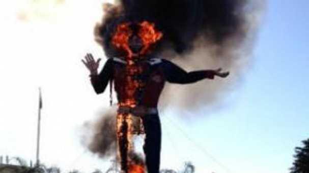 Big Tex fire