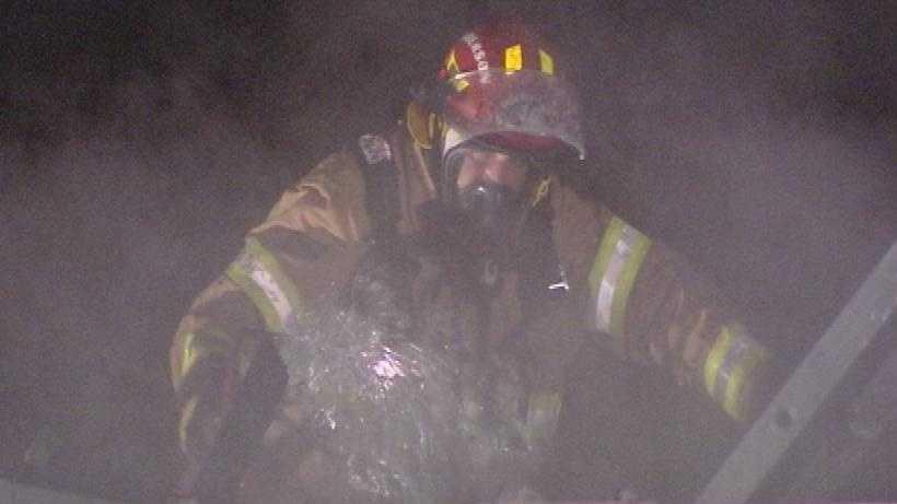 Officials investigate fire at swim club