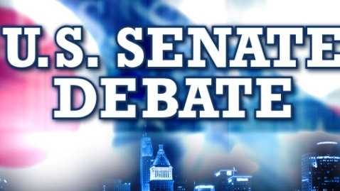 Senate debate grapic