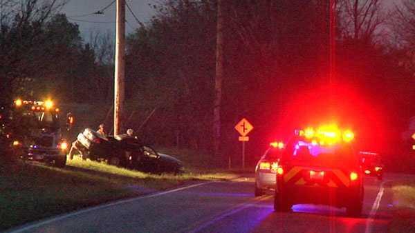 Student killed in crash image