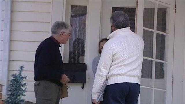 Former neighbors reunited by Ohio presidential politics