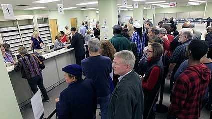 Early voters Ohio