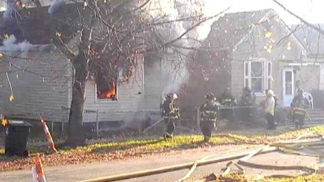 A man was killed in a house fire in the 700 block of Pine Street in Hamilton on Thanksgiving morning. Neighbors tried to rescue the victim who had lived in the house for about seven years.