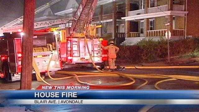 Firefighters hurt in Avondale fire