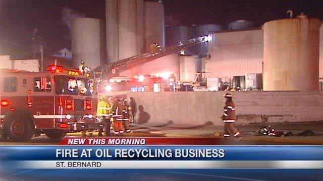 Vulcan Oil Company fire