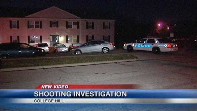 Man shot while playing cards in College Hill