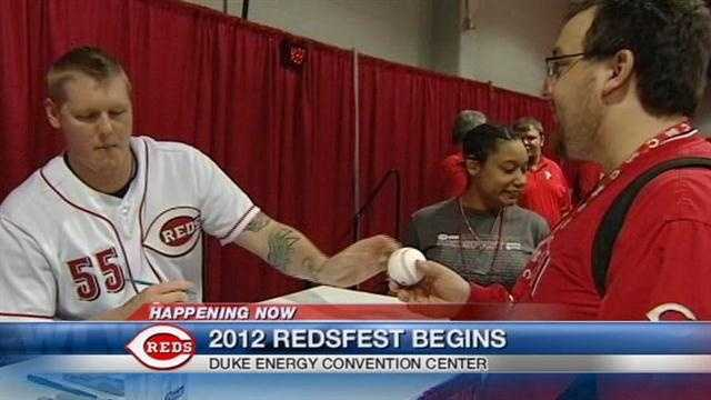 Redsfest 2012 opened Friday
