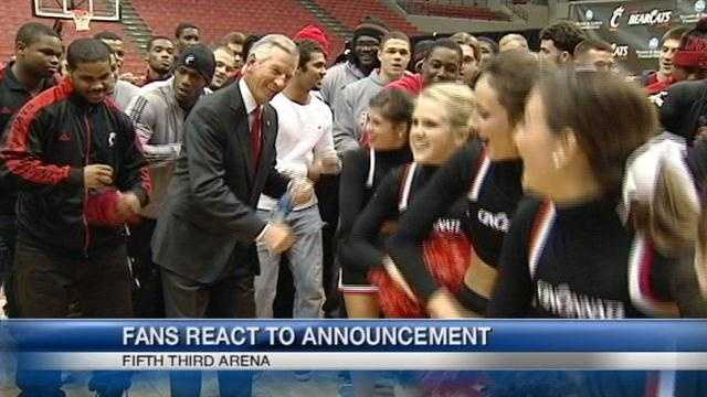 UC fans said Saturday gave them deja vu. The announcement of Tommy Tuberville as head football coach marked UC's fourth coach in nine years.