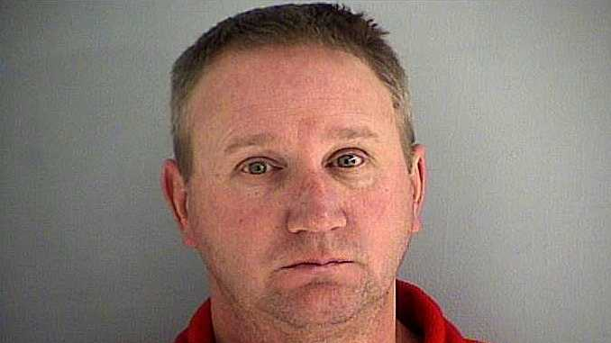 Roger Fox Jr. was arrested on 14 charges of pandering sexually oriented materials involving a minor.