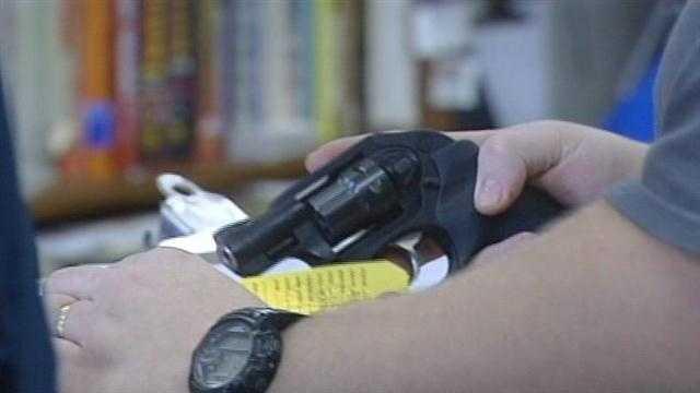 Gun shop owner says shortage seasonal, common