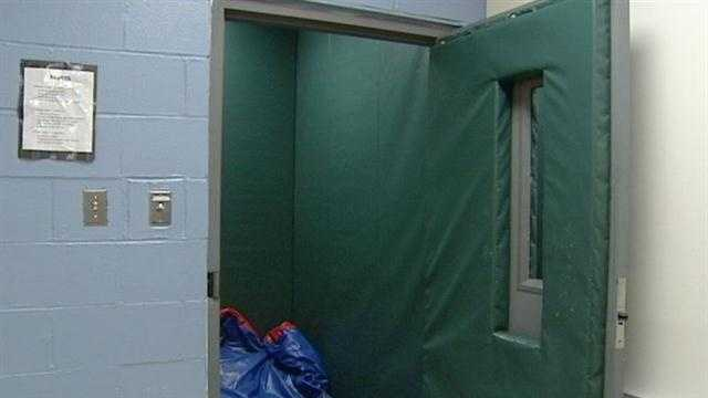 Seclusion rooms allow students to manage outbursts