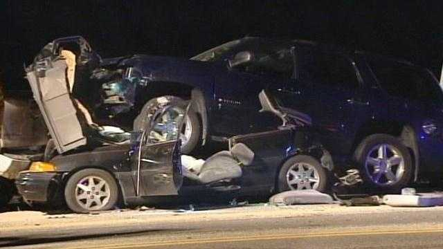 Driver facing DUI charge after chain-reaction crash