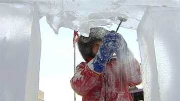 The following images are from previous Icefests