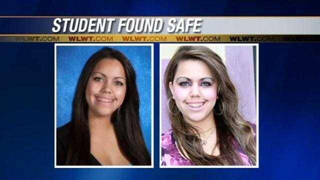UC student found safe