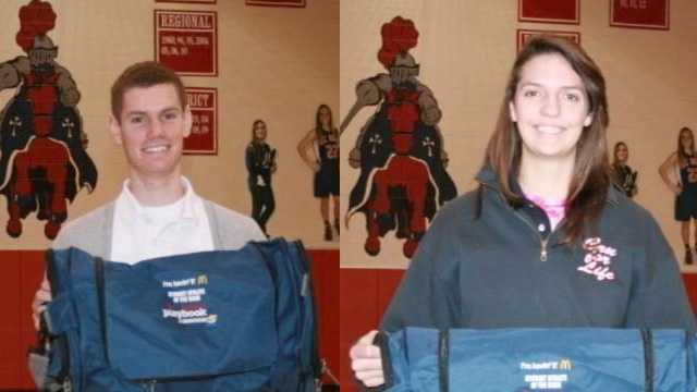 McDonald's Student Athletes of the Week for Jan. 11
