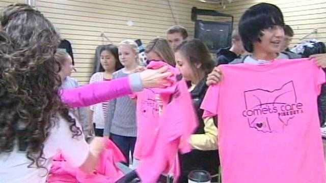 Students raise money to show 'Comets Care'