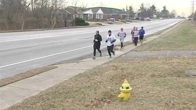 Principal runs 27 miles to raise cancer awareness