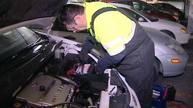 Cold, snow lead to lots of AAA calls