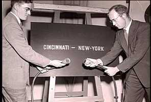 WLWT was the first NBC affiliate outside of the East coast.