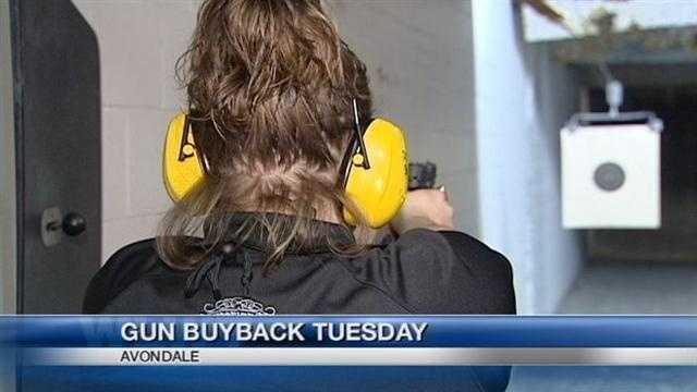 Church buys back guns in Avondale