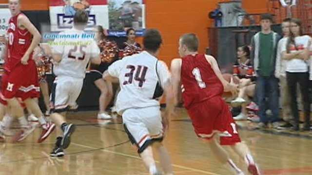 Gallimore's drive & finish voted Cincinnati Bell Fastest Play for Jan. 11